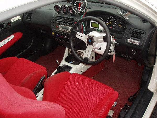 HONDA CIVIC TYPE R EK9 1997 FOR SALE JAPAN - CAR ON TRACK ...