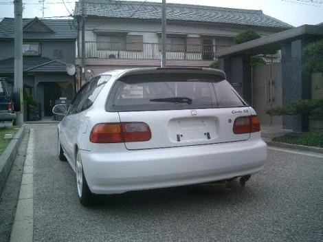 honda civic sir2 eg6 1992 for sale japan car on track trading. Black Bedroom Furniture Sets. Home Design Ideas
