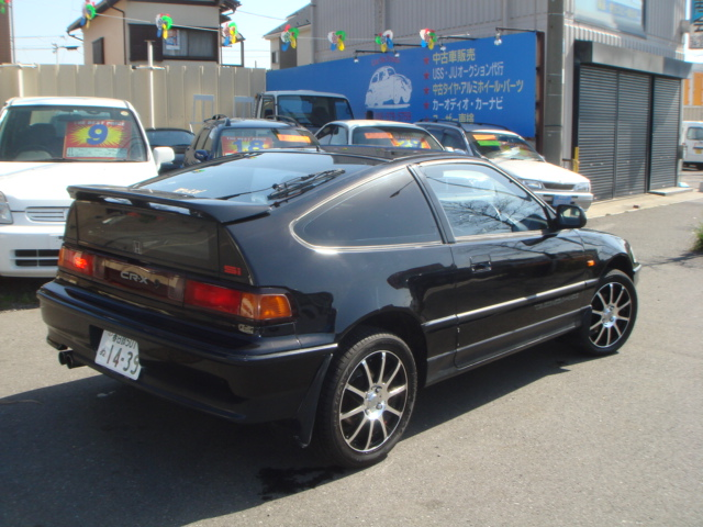 honda crx si 1991year 1600cc dohc engine dohc for sale japan car on track trading. Black Bedroom Furniture Sets. Home Design Ideas