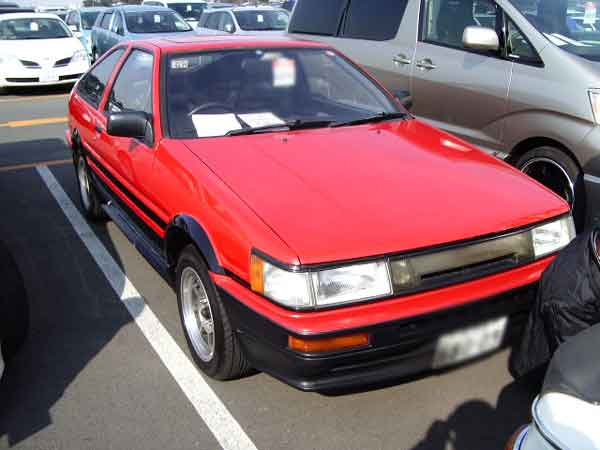 TOYOTA COROLLA LEVIN AE86 GT APEX 3D for sale Japan, Japan car auction levin ae86