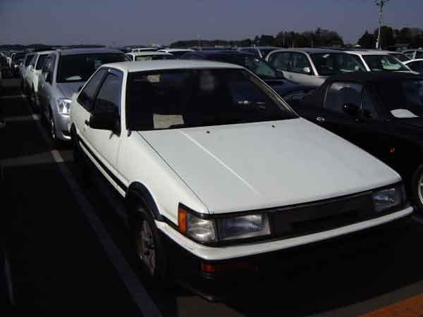 TOYOTA COROLLA LEVIN AE86 GT APEX 2D for sale Japan, ae86 gt apex auctions