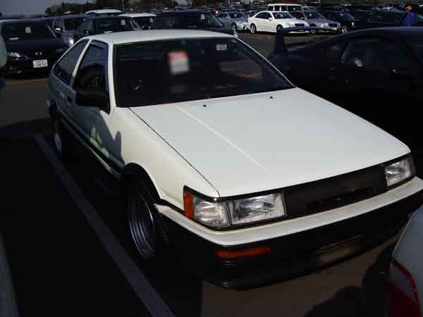 TOYOTA COROLLA LEVIN AE86 GTV 3D for sale Japan, ae86 gtv auctions