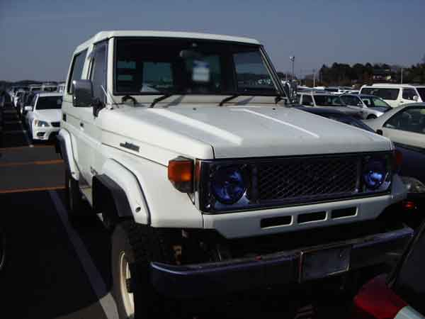 TOYOTA LANDCRUISER BJ74V for sale, landcruiser bj74v Japan car auctions