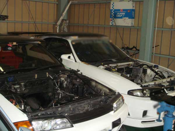 NISSAN SKYLINE GTR BNR32 / BCNR33 / BNR34 TUNE UP in Our Company