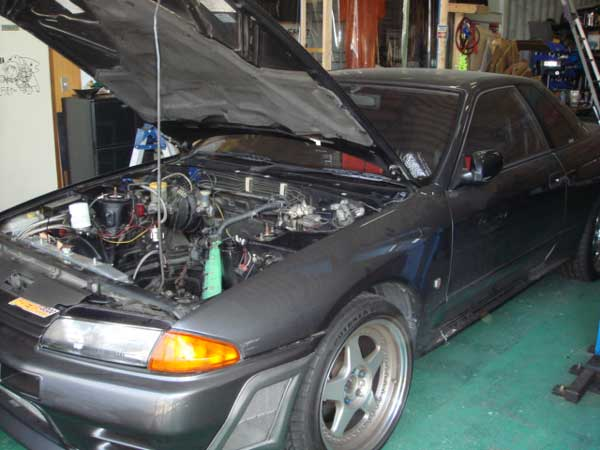 NISSAN SKYLINE GTR BNR32 / BCNR33 / BNR34 MAINTENANCE and TUNE UP