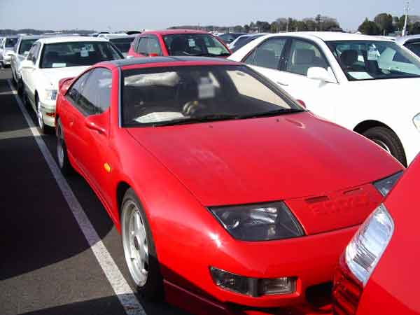 NISSAN FAIRLADY Z 300ZX TWIN TURBO CZ32 for sale, fairlady z cz32 Japan auto auctions