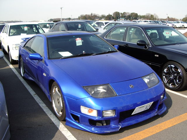 NISSAN FAIRLADY Z 300ZX TWIN TURBO GCZ32 for sale, fairlady z gcz32 Japan auto auctions