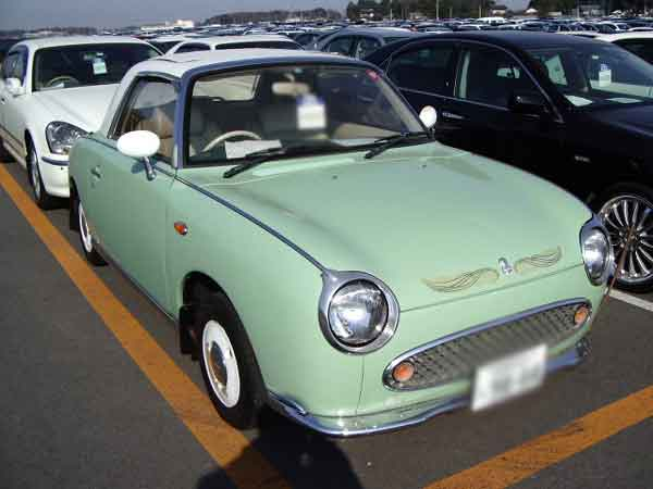 NISSAN FIGARO FK10 for sale, figaro fk10 uss auto auction from Japan