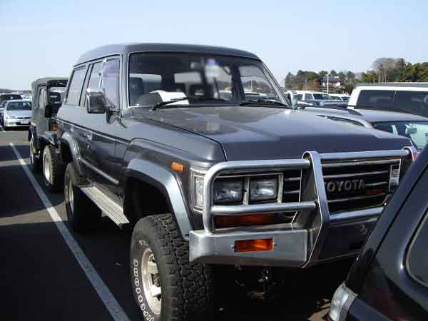 TOYOTA LANDCRUISER HJ61V for sale, landcruiser hj61v auction of Japan