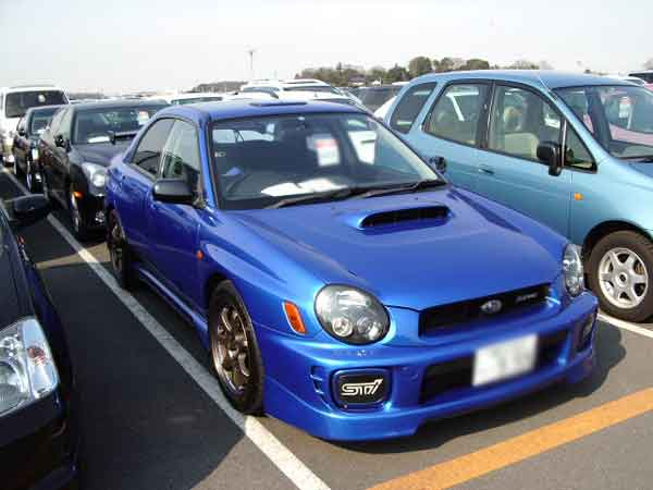 SUBARU IMPREZA WRX STI GDB for sale, subaru impreza wrx sti gdb car dealer auction