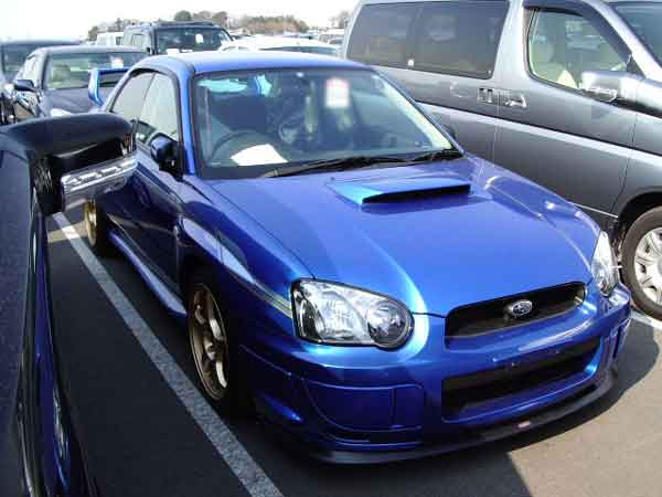 SUBARU IMPREZA WRX STI GDB for sale, auto auction of subaru impreza wrx sti gdb