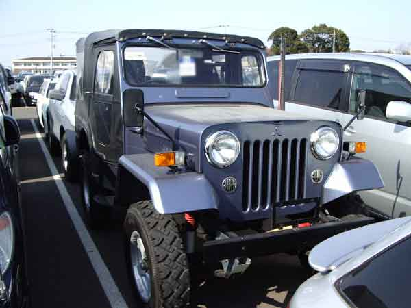 MITSUBISHI JEEP J53 TURBO for sale, jeep japan car auction