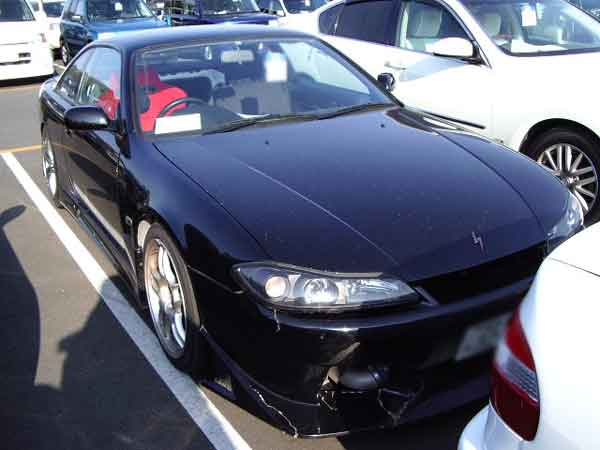 NISSAN SILVIA K's S14 for sale, silvia auction from Japan