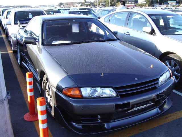 NISSAN SKYLINE GTR BNR32 for sale, gtr auction of Japan