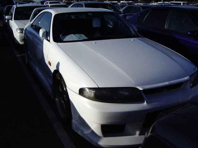 NISSAN SKYLINE GTS-T M ECR33 for sale, skyline gts-t m 2.5 ecr33 auction of Japan