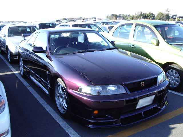 NISSAN SKYLINE GTR BCNR33 for sale, skyline gtr bcnr33 Japan car auctions