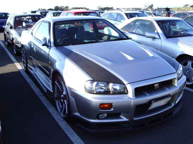 NISSAN SKYLINE GTR BNR34 for sale, skyline gtr bcnr33 Japan car auctions