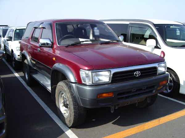 TOYOTA HILUX SURF KZN130W from japan, hilux surf kzn130w Japan car auctions