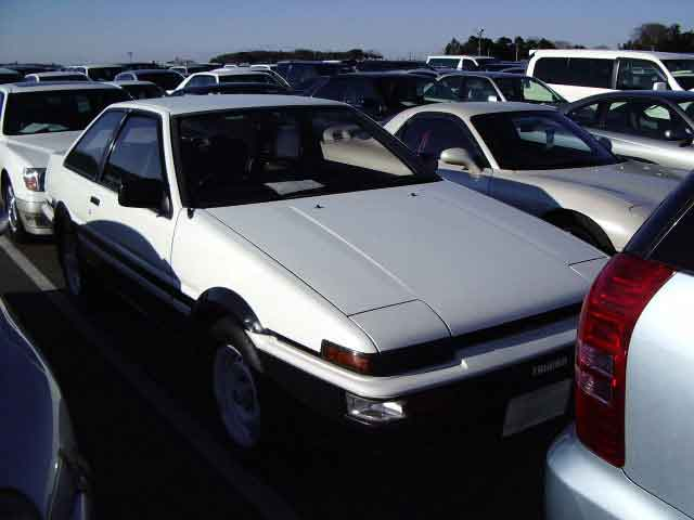 TOYOTA SPRINTER TRUENO GT APEX 2D for sale Japan, sprinter trueno ae86 gt apex Japan auctions