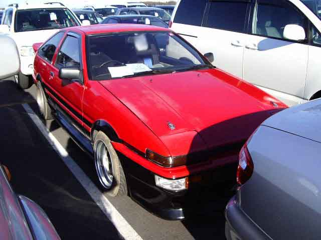 TOYOTA SPRINTER TRUENO GTV 3D for sale Japan, Japan car auction sprinter trueno ae86