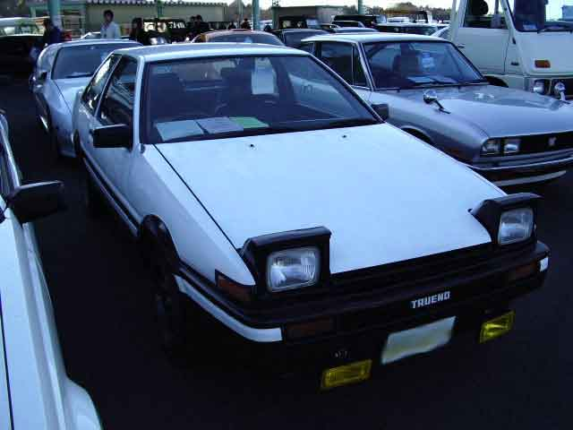 TOYOTA SPRINTER TRUENO GT APEX 2D for sale Japan, sprinter trueno gt apex  auctions