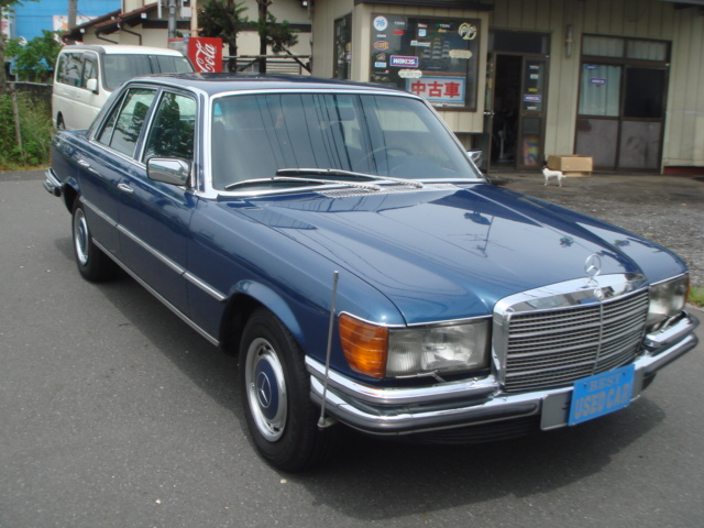MERCEDES BENZ 450SEL LHD 1979 YEAR