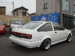 TOYOTA COROLLA GT COUPE TWIN CAM AE86 1985 for sale Japan