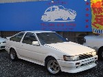 TOYOTA AE86 GTV 3D 1984 for sale Japan, Japanese Used Car Exporter