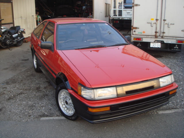 1987 YEAR TOYOTA LEVIN COUPE AE86 GT-APEX TWIN CAM