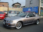 NISSAN SKYLINE GTR V SPEC BNR34 for sale Japan