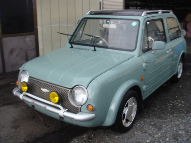 NISSAN PAO 1990 YEAR CANVAS TOP PK10