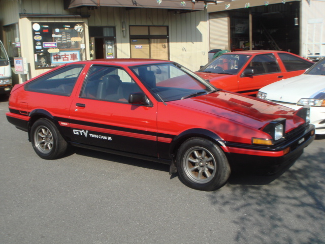 modified toyota sprinter trueno twin cam gtv ae86