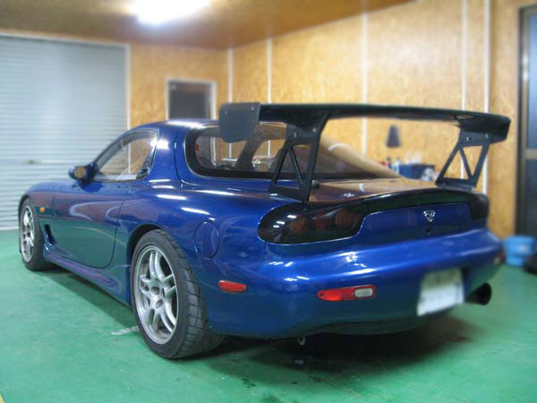 FULL MODIFIED MAZDA RX7 TYPE R FD3S FOR SALE