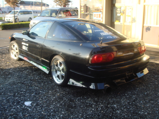 MODIFIED NISSAN 180SX TURBO KRPS13 FOR SALE