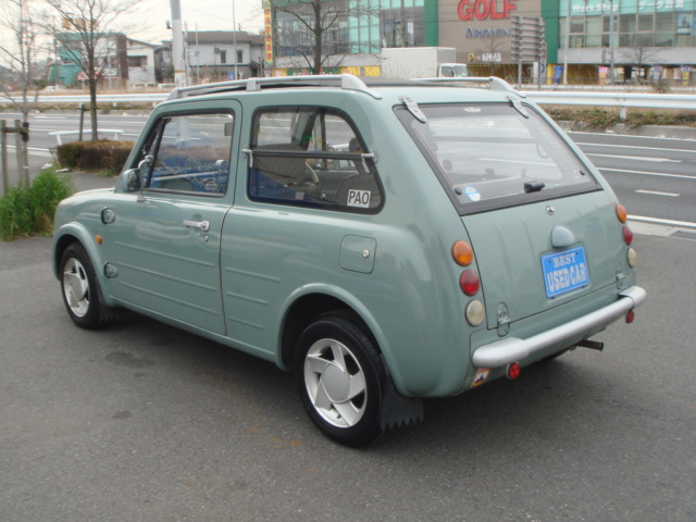 NISSAN PAO 1990 YEAR CANVAS TOP PK10 CAR FOR SALE
