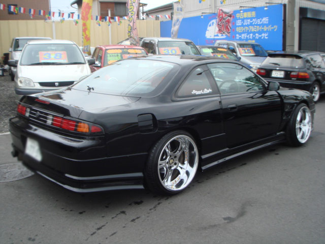 NISSAN SILVIA K'S TURBO S14 WIDE BODY FOR SALE JAPAN - CAR ...