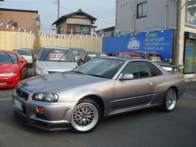 NISSAN SKYLINE GTR V SPEC BNR34 FOR SALE
