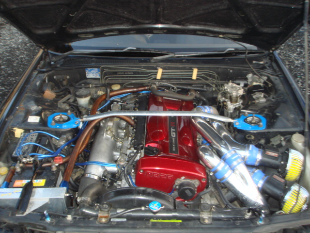 MODIFIED NISSAN SKYLINE GTR R34 ENGINE 480HP