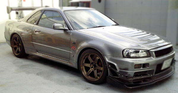 NISSAN SKYLINE R34 GTR V SPEC2 BNR34 550ps FOR SALE