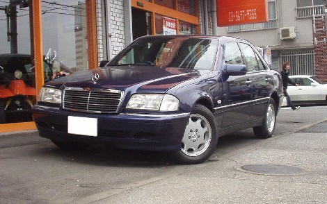 MERCEDES BENZ C240 RHD 1998 FOR SALE
