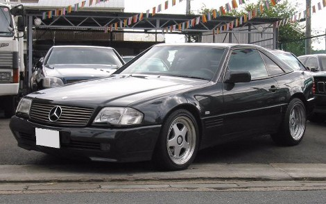MERCEDES BENZ SL500 LHD FOR SALE