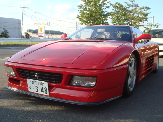 FERRARI 348TB 2000 YEAR FOR SALE JAPAN