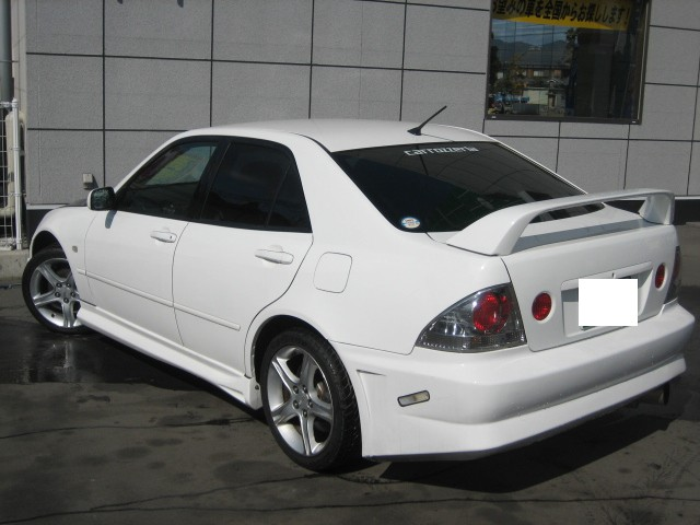 Toyota Altezza Rs200 Sxe10 For Sale Car On Track Trading