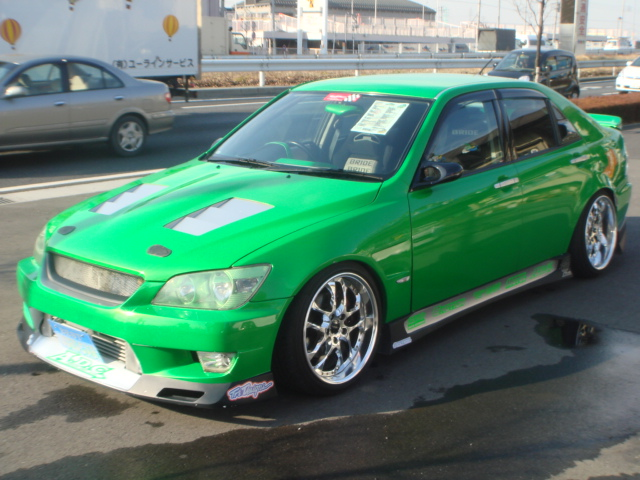Modified Toyota Altezza Sxe10 For Sale Car On Track Trading