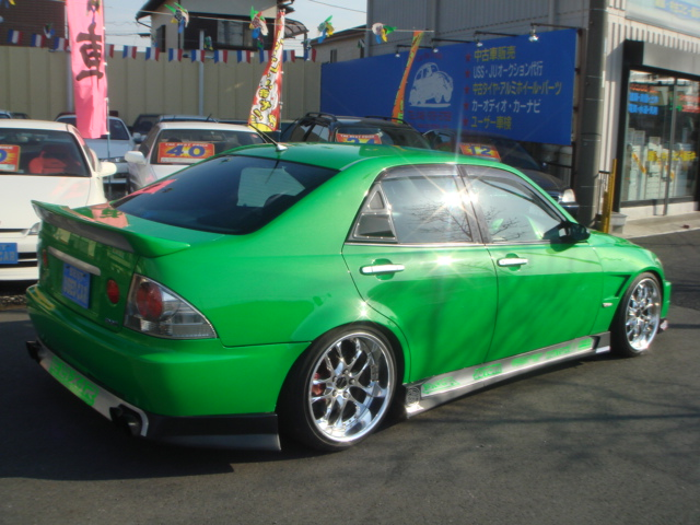 MODIFIED TOYOTA ALTEZZA RS200 SXE10
