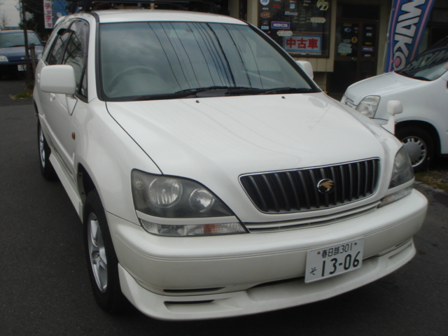 TOYOTA HARRIER SXU10 FOR SALE