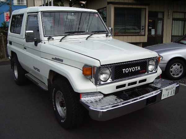 TOYOTA LANDCRUISER BJ74V 1988 FOR SALE