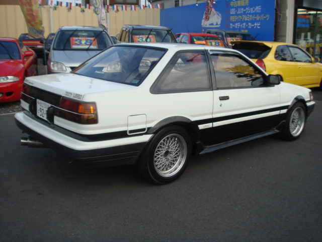 TOYOTA COROLLA TWIN CAM AE86 1986 FOR SALE