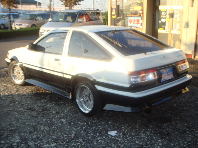 TOYOTA COROLLA GT COUPE TWIN CAM AE86 1986 FOR SALE