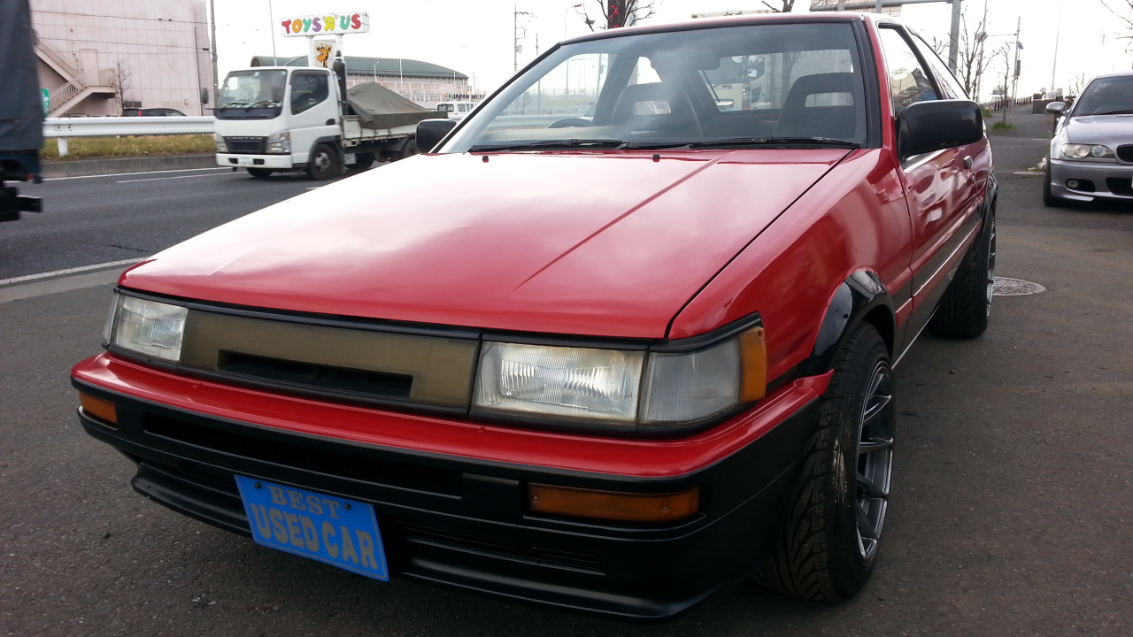 TOYOTA COROLLA GT COUPE FOR SALE